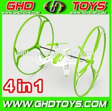 Hot Sell U843 2.4ghz Mini drone 2.4G RC China QuadCopter&helicopter Walking On The Ground 4 in 1 for kids as festival gift