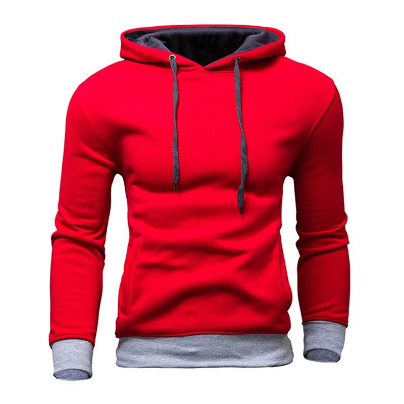 f78dfa8da New Brand Sweatshirt Men Hoodies Fashion Solid Fleece Hoodie Mens Hip Hop Hoodie  Sweatshirt Men's Tracksuits Moleton Masculino-in Hoodies & Sweatshirts from  ...