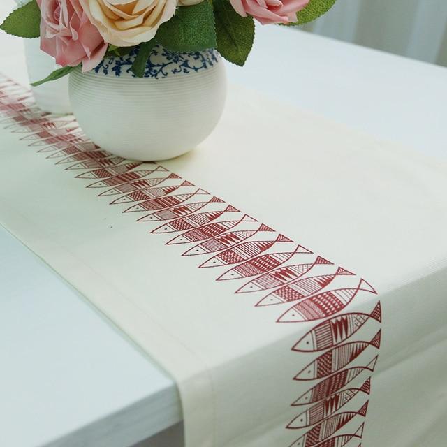 Caminos de mesa de Tela para coser europea Impreso caminos de mesa ...