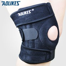1 Piece Mountain Climbing Knee Pads Support Cycling Knee Protector Kneepad Mountain Bike Sport Safety Guard Brace