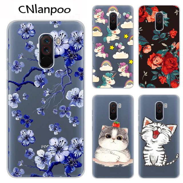 brand new adbf0 1143b US $1.8 5% OFF|Soft Case For Xiaomi Pocophone F1 Case 6.18 Inch Silicone  Transparent Phone Back Cover Case For Xiaomi Poco F1 Global Version-in  Fitted ...