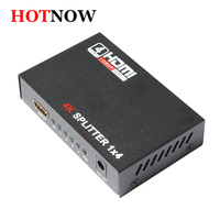 HDMI Splitter 1X4 Full HD 3D Video 1X4 Split 1 In 4 Out Amplifier Dual Display
