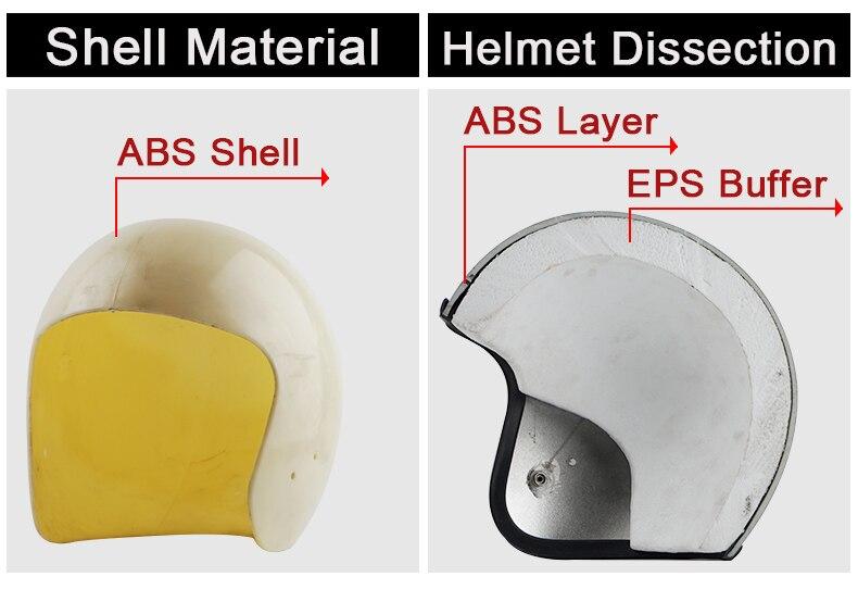 7b5a4d9d8791c T57 TORC capacete da motocicleta do vintage jet Capacetes ...