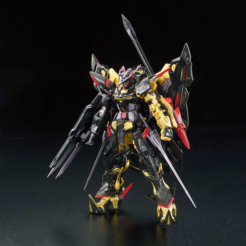 1 PCS Bandai RG 24 1/144 Gundam Astray Gold Frame Amatsu Mina MBF-P01-Re2 Mobile Assembly suit model building kits ohs bandai rg 24 1 144 gundam astray gold frame amatsu mina mbf p01 re2 mobile suit assembly model kits oh