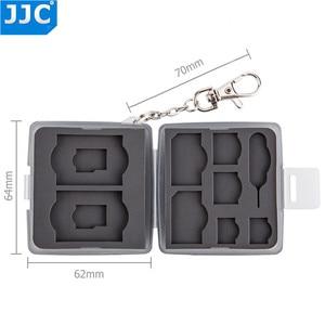 Image 4 - JJC מים עמיד מחזיק אחסון מצלמה זיכרון כרטיס תיק SD MSD 2 SIM מיקרו SIM Nano SIM כרטיסי מקרה