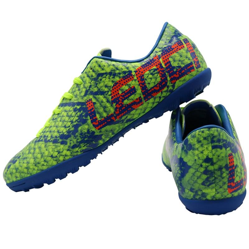 LEOCI TF fútbol zapatos deportivos botas de fútbol de interior fútbol  Futsal tacos Zapatillas fútbol Sala Hombre hombres niños fútbol 24a27a5a0d2a6