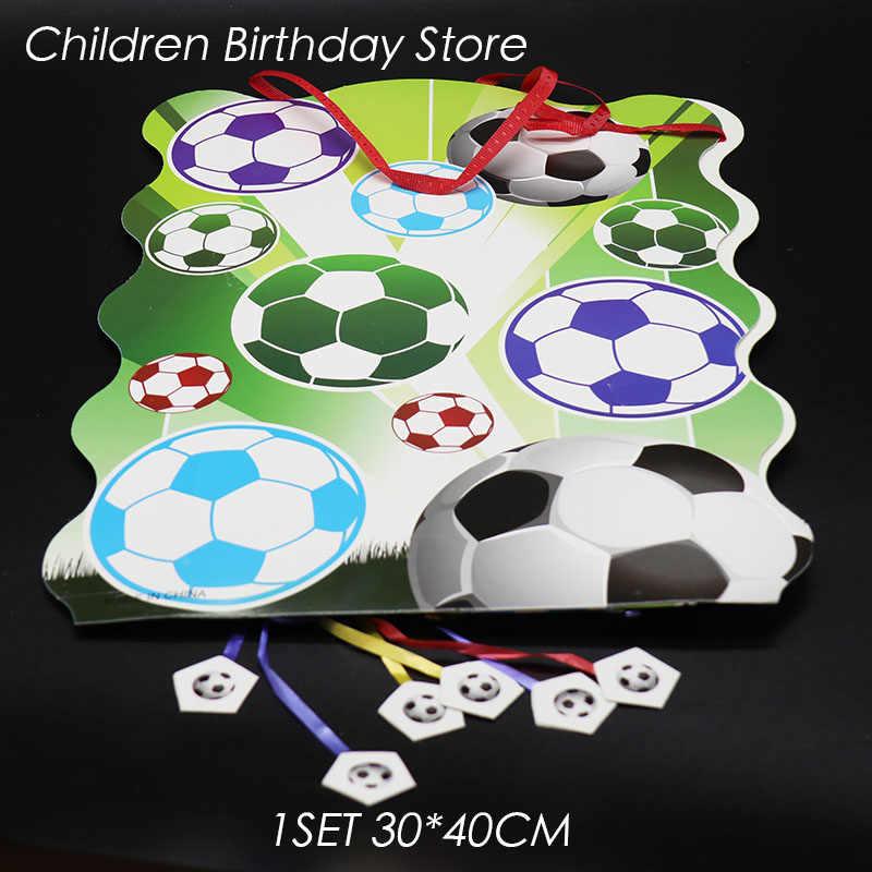 1 шт./партия, складные футбольные бутсы, украшения для дня рождения, футбольные бутсы, Детские душевые забавные игры