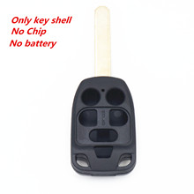 WFMJ 6 Buttons Remote Smart Key Case Chain Shell Fob For N5F-A04TAA 2011 2012 2013 Honday Odyssey