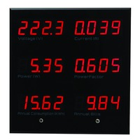 EPM5600 Digital Single Phase Panel Meter Display 6 Parameters Led Show Room Meter