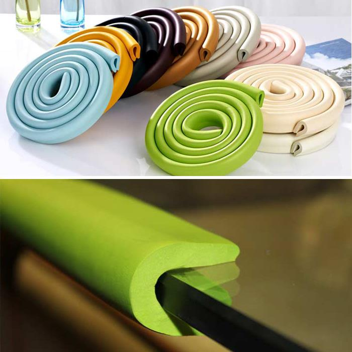 2015 New Multifunction Baby Bumper Strip 2m Child Safety Protective Equipment To Send 3m Tape