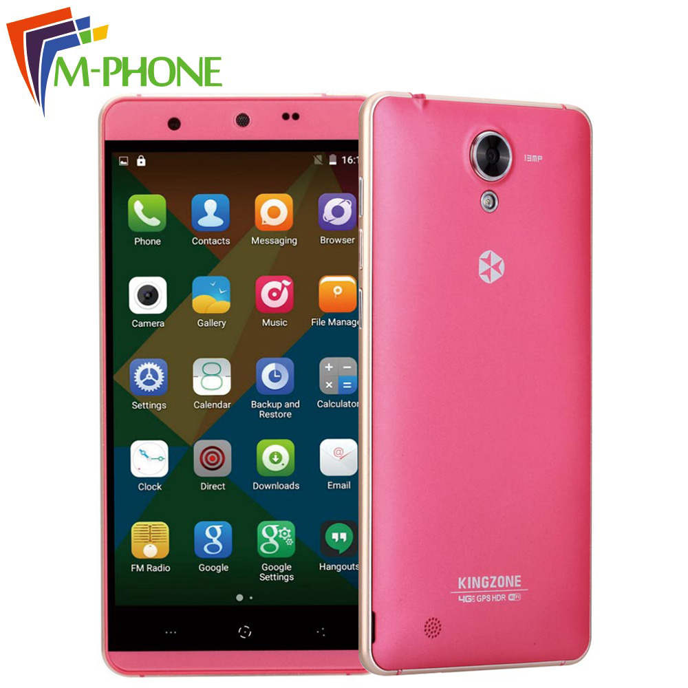 Original Kingzone N5 Mobile Phone 4G 5 0 Inch Android 5 1 MT6735 Quad Core 2GB