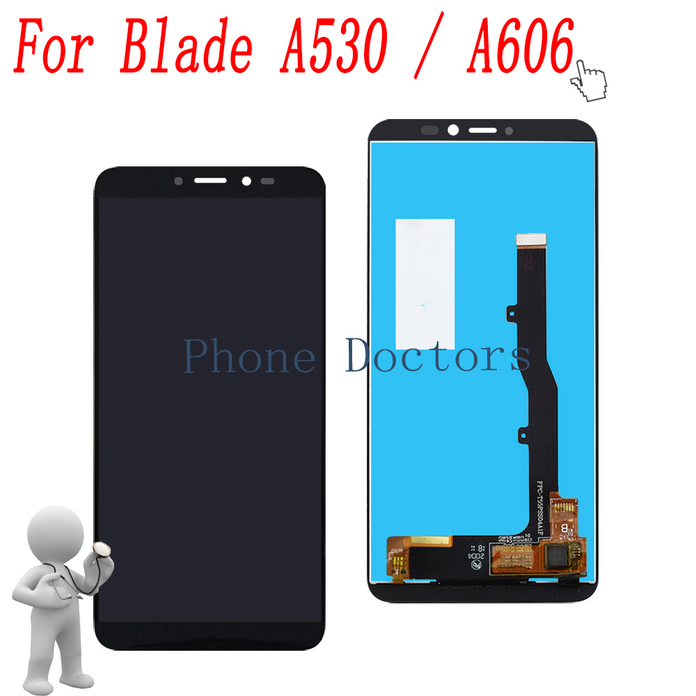 5.45 Full LCD DIsplay + Touch Screen Digitizer Assembly For ZTE Blade A530 / Blade A606 Black ; New ; 100% Tested5.45 Full LCD DIsplay + Touch Screen Digitizer Assembly For ZTE Blade A530 / Blade A606 Black ; New ; 100% Tested