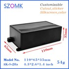 10 pcs/lot plastic electric box case box plastic electronic plastic case electronics 110X65X35mm plastic housing