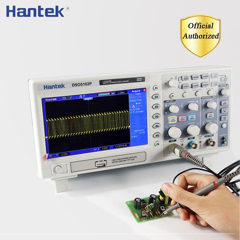 "Owon sds1102 100mhz 2 canal osciloscopio 7/"" pantalla LCD Oscilloscope scope"