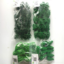 70pcs/lot architecture N scale model green mixed tree in 6-8cm for ho train layout and kits toy chirstmas tree 2boxes architecture model scale new bush model tree grass in ho train layout