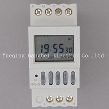 NKG-5 dual circuit time controller microcomputer time controlled switch street lamp controller
