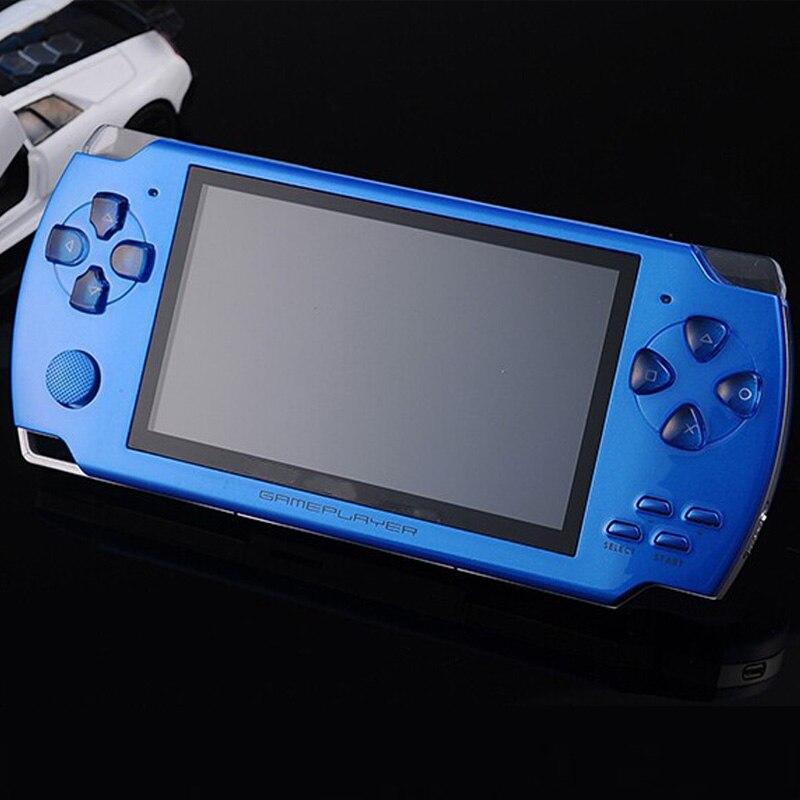 5 pcs/lots gratuit DHL 8 GB PMP lecteur de jeu portable Mp3 MP4 MP5 TFT LCD écran couleur lecteur de jeu/Console de jeu