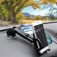 JEREFISH Long Neck Arm Car Mobile font b Phone b font Holder Stand Cradle Dock for