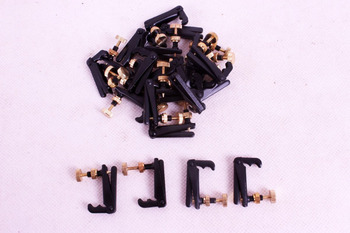 80 pcs Violin Fine tuners Violin Parts Fiddle Tuner String Adjuster Yinfente