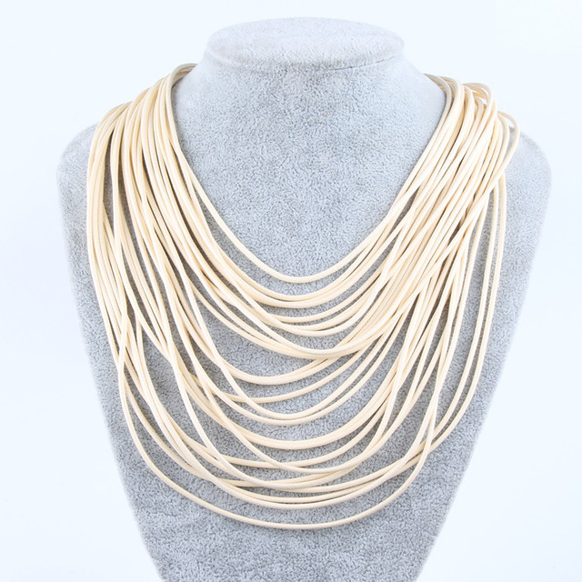 Bohemian Multilayer Statement Necklace