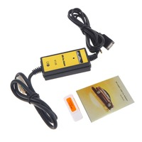 Auto Car USB 3 5mm Aux In Adapter MP3 Player Cable Radio Interface Car AUX Cable