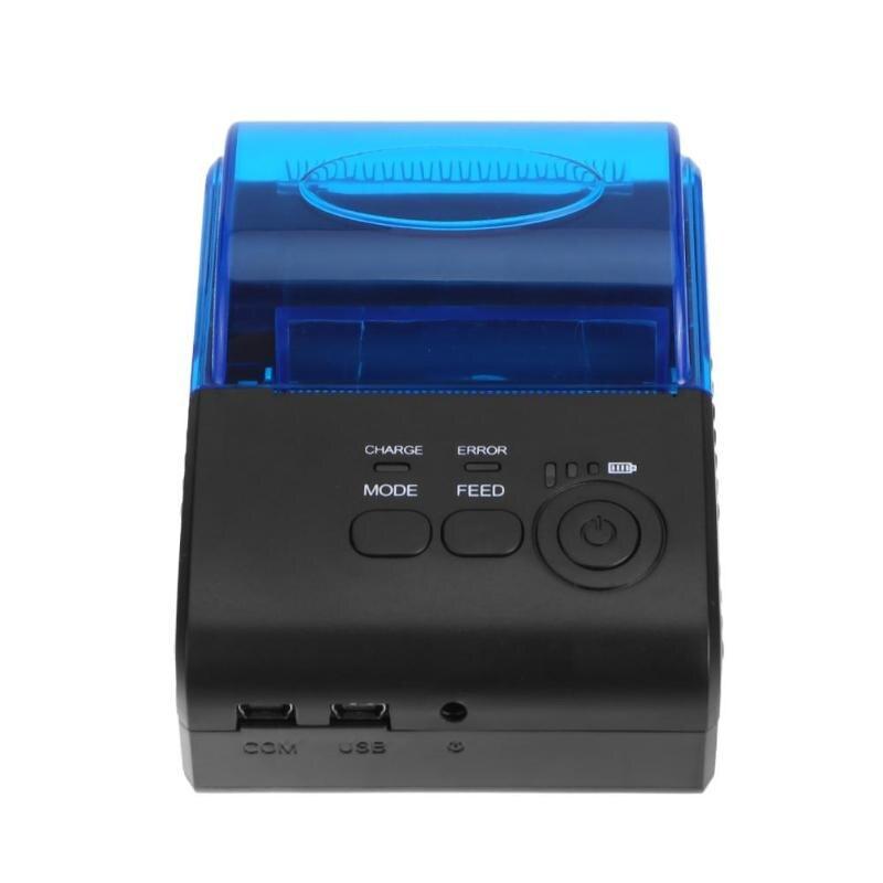 все цены на ZJ-5805 58mm Bluetooth4.0 POS Receipt Thermal Printer Machine Receipt Instrument Ticket Printer Support Windows Android онлайн