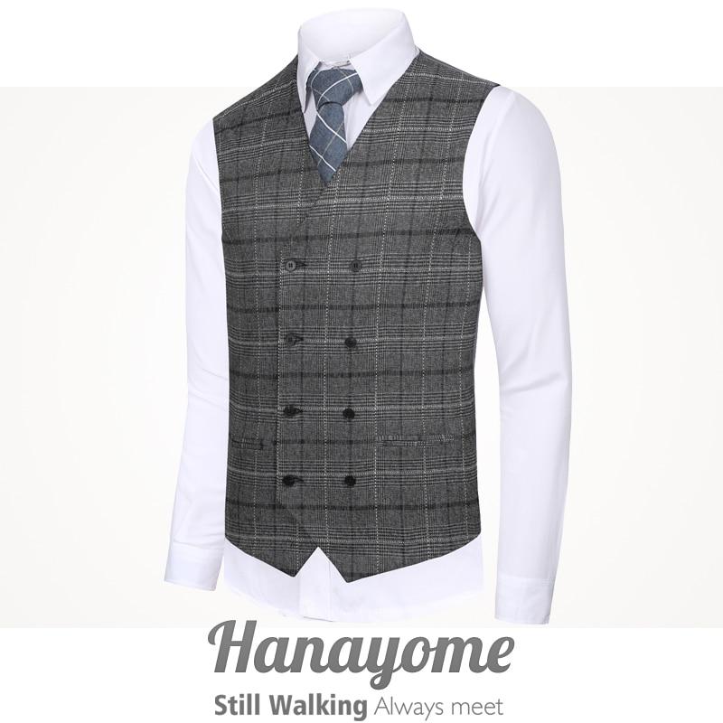 Men 39 s Classic Party Wedding Plaid Floral Waistcoat Vest Steampunk Tweed Run 80 39 Suit Vest Hanayome Designer Brand in Vests from Men 39 s Clothing