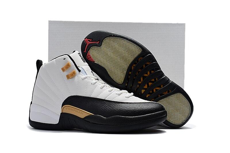 Free Shipping JORDAN Air Retro12 Basketball Shoes High-Top Sneakers Basketball Shoes Unisex Jordan 12 Chinese New Year original adidas men s basketball shoes g98295 g98297 sneakers unisex free shipping