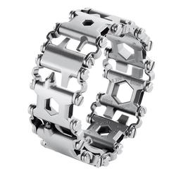 XIUFEN Man Outdoor Spliced Bracelet Multifunctional Wearing Screwdriver Tool Hand Chain Field Survival Bracelet