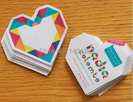 500 יח\חבילה צורה מותאמת אישית כרטיסי ביקור למות לחתוך צורה, נייר הדפסת כרטיסי ביקור, 500pcs הרבה סיטונאי עם משלוח עיצוב