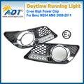 LED Автомобилей Дневного Света 12 В 10 Вт Cr ee Высокой мощности 6000 К Ксеноновые Белый 1100lm Фары DRL Дневного Света для Benz W204 AMG 08-11
