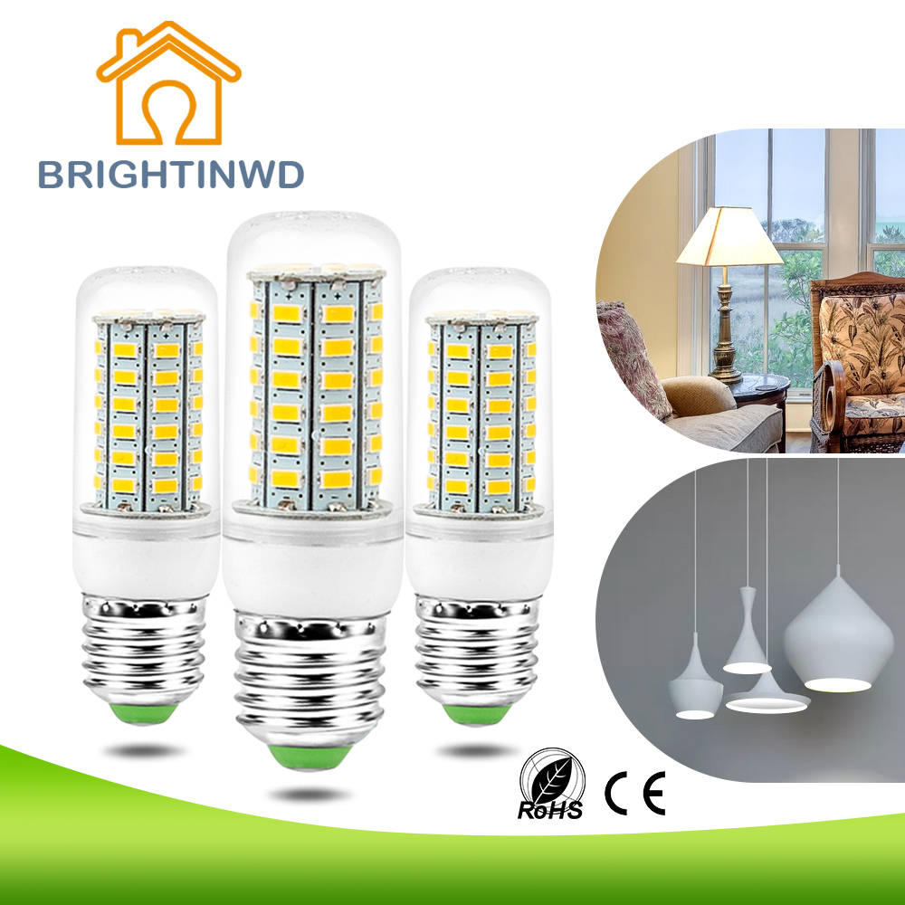 220v led corn light bulb e27 smd 5730 led lamp chip. Black Bedroom Furniture Sets. Home Design Ideas