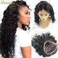 Полное Кружева Парики Человеческих Волос для Черных Женщин Индийский Девственные Волосы свободная Волна естественный цвет Кружева Перед Парики Свободные Вьющиеся Бесплатная Доставка