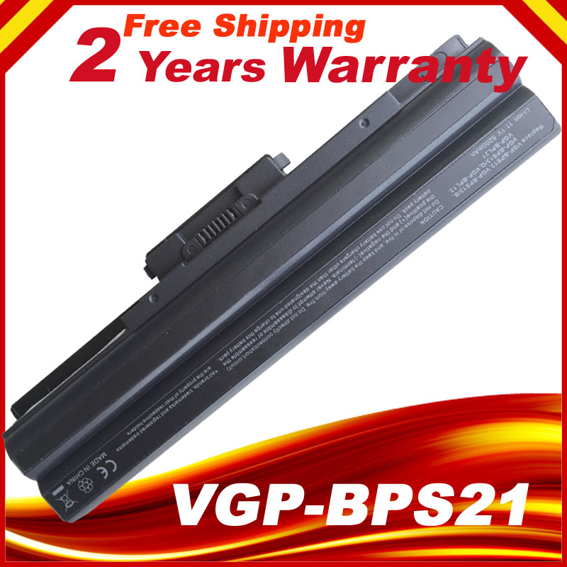 Laptop Battery For SONY VAIO VGP-BPS21/S VGP-BPL21A VGP-BPS13/B VGP-BPS13A/B VGP-BPS21B VGP-BPL13