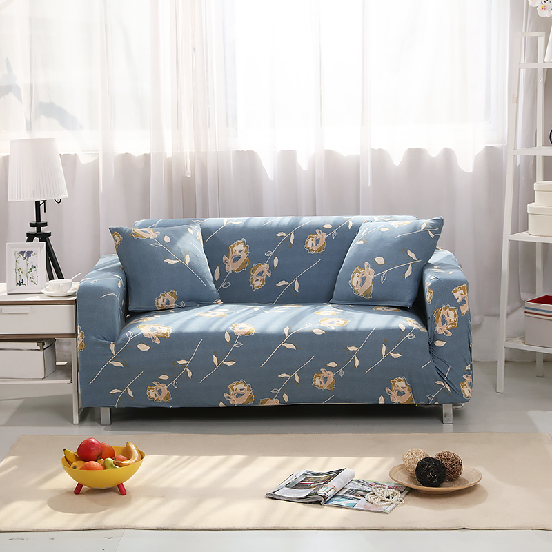 7 printed color new fashion home living sofa dirtproof cover armchair loveseat sectional. Black Bedroom Furniture Sets. Home Design Ideas