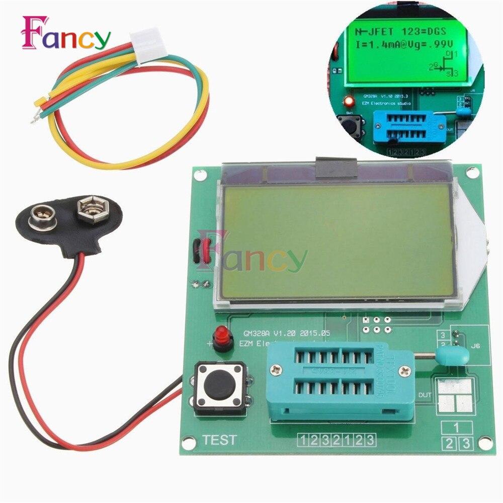 New Arrival Component GM328A Transistor Tester Graphic Wave Signal LCR\RLC\PWM\ESR High Quality