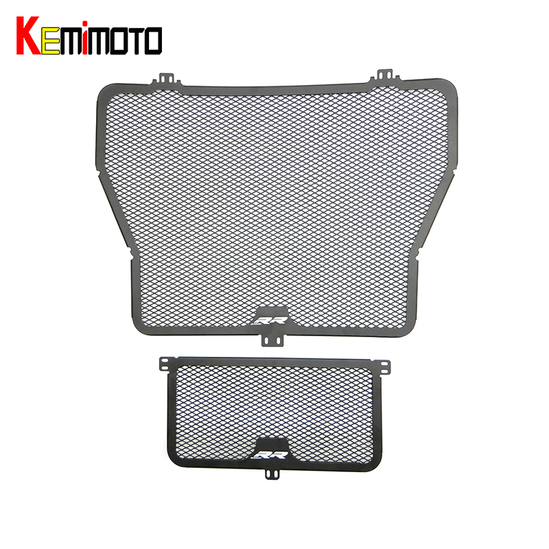 KEMiMOTO Radiator Oil Cooler Guard Cover Protector for BMW S1000RR R XR Motorsport 2015 2016 after market motorsport manager [pc jewel]