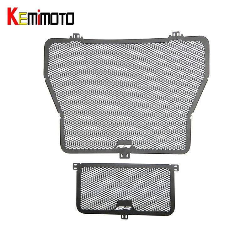 KEMiMOTO S1000RR радиатор масляный радиатор гвардии Крышка протектор для BMW S1000RR Р ХС Моторспорт 2015 2016 после рынка