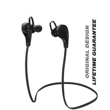 Smart Bluetooth earphones sport music waterproof stereo noise cancelling HD voice English prompt Super long standby