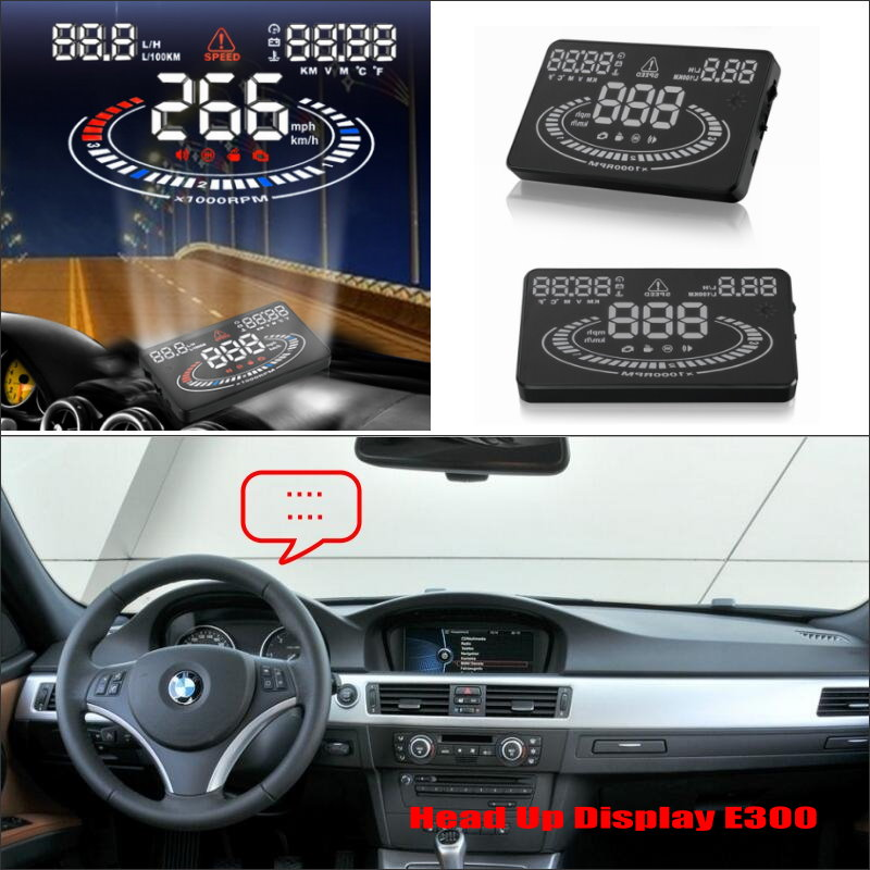 Liislee For BMW 3 E46 E90 E91 1998~2013 - Safe Driving Screen Special Car HUD Head Up Display Projector Refkecting Windshield