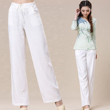 Womens white linen pants online shopping-the world largest womens ...