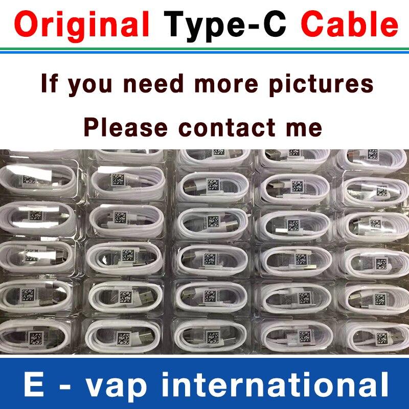 100 pcs/lot 100% véritable câble d'origine USB type C 1.2 M 2A câble chargeur rapide pour Samsung Galaxy S8 S9 note 8 xiaomi-in Chargeurs de téléphone portable from Téléphones portables et télécommunications on AliExpress - 11.11_Double 11_Singles' Day 1