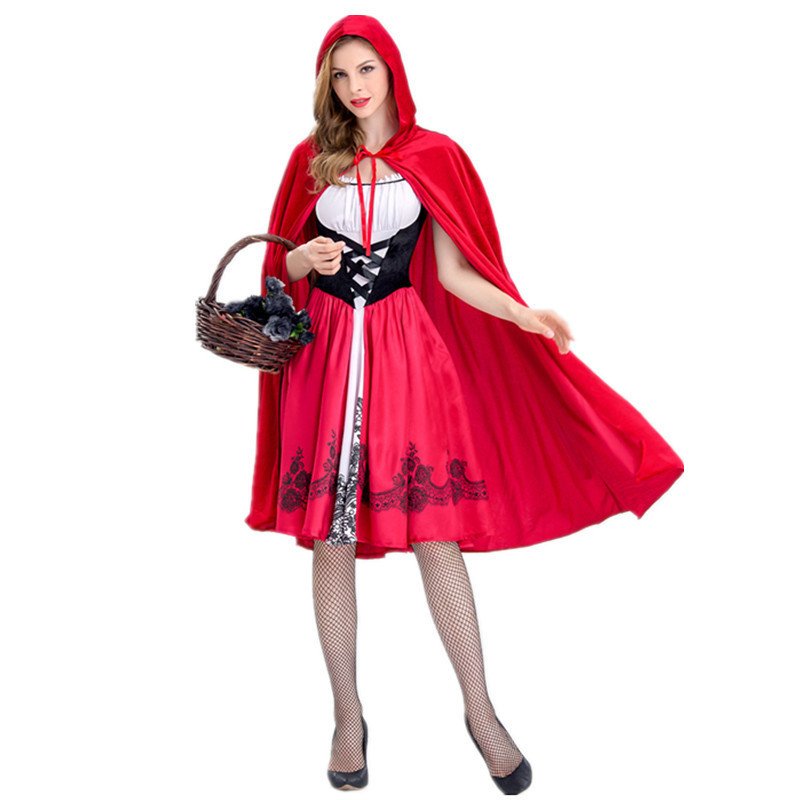 Little Red Costume, Sexy Red Riding Hood Costume, Little ...