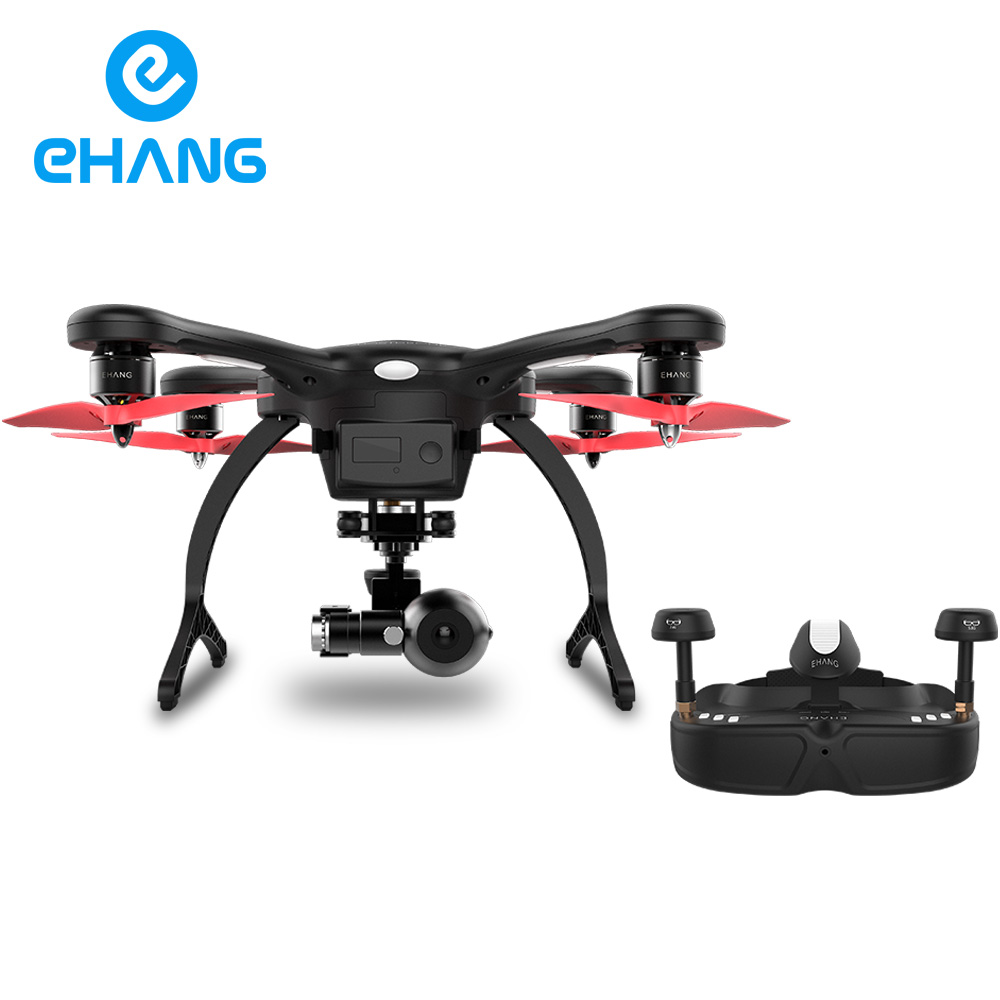 Free shipping!Ehang GHOSTDRONE 2.0 VR Quadcopter With 4K HD Sports Camera For Photographer, 100% Original 4 RC Helicopter drone