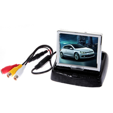 auto monitor 3.5″ TFT Color Car LCD Monitor For Backup Camera GPS camera monitor