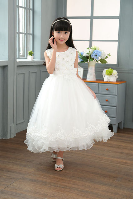 Online Shop Kids Summer Clothes For Teenager Girls Evening Dress - Wedding Dresses For Teenage Girl