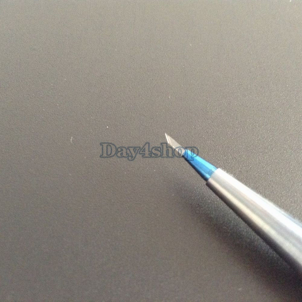 1.0mm 30 degree sapphire balde side prot ophthalmic Dental instrument