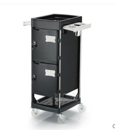New Style Hair Salon Tool Cart Hair Cart Bar Car With Door Lock To Improve Management.