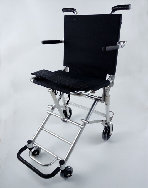 portable wheel chair desk india life time warranty frame ultra lightweight folding wheelchair for airport and travelling use js88