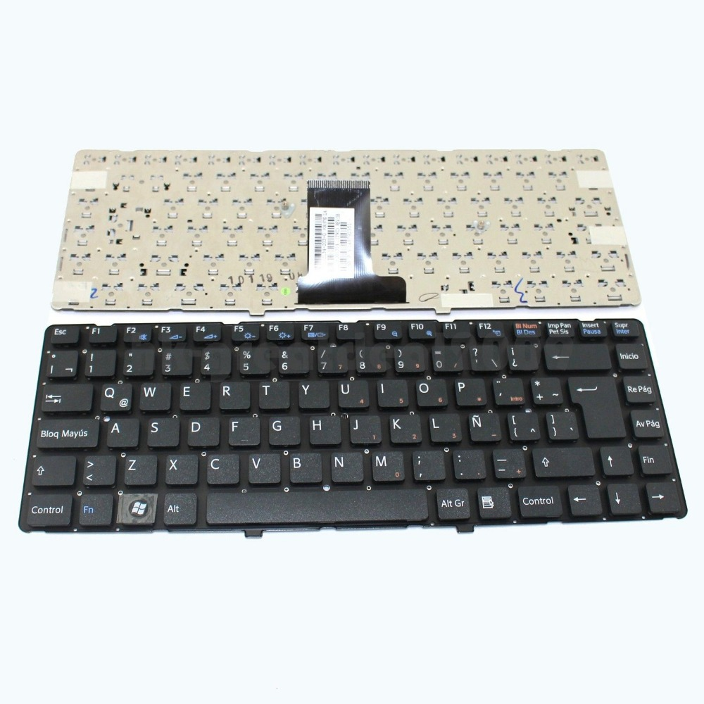 New Laptop keyboard for   Sony Vaio VPCEA47FX/P VPC-EA46FM/P LA  SP  layout for sony vpceh35yc b vpceh35yc p vpceh35yc w laptop keyboard